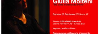23 febbraio 2019 – CD presentation at Pianoforti Cerabino